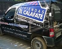 Viviendas el Calafate | Diseño de ploteo vehicular