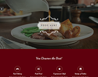 Restaurant Website Template (Mock-up Design)
