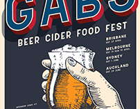 GABS Festival 2019 - Poster Concepts