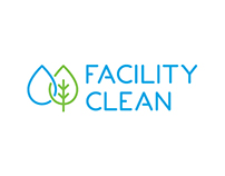 Facility clean logo design