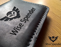 Wise Spender free wallet psd mockup