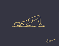 Nike Training Animation