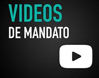 Videos de mandato