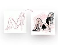 Speedpaint - Fashion Illustration