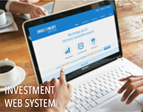 Investment Web System - responsive web design