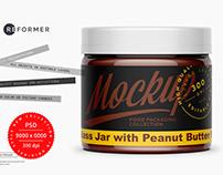 Hazelnut Spread Mockup 300ml