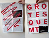 Grotesque MT poster — 'Embrace the Ugly'