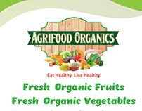 Agrifood Flyer and Logo