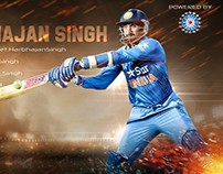 Sport Posters for Indian Cricketers