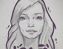 My girl's portraits ♥