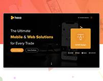 Digital Design Agency - Home Screen