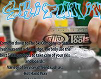 Ski Tuning Promotional Card