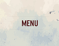 UP THE BISTRO MENU DESIGN