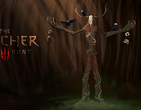 Leshen The Witcher FanArt