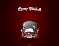 Crazy Whales and other stickers