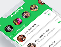 Whats App Redesign Concept :)