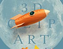 3d illustration clipart
