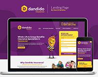 Dandido Landing Page + Remarketing Ads