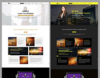 Ello- Adobe Muse Template