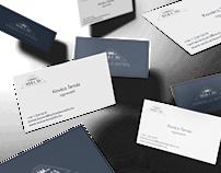 Business cardfor Wulcan Ltd (fireplacebuilding compan