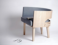 Dunka – a Scandinavian armchair