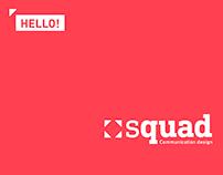 Squad: Brand identity and Communication Design