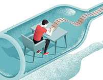 Editorial illustration for Psychologies 4
