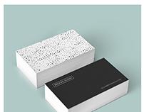 Polka Dots Business Card Template
