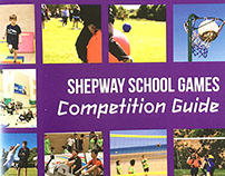 Shepway School Games Competition Guide - Print Design
