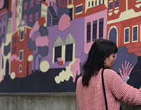 Mural in Cieszyn