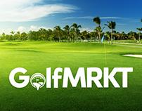 GolfMRKT Logo & Web Design