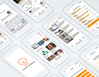 UX Case Study: RELAXLY - A Self Care Application