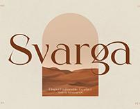 Svarga - Free Elegant Serif Font