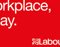 Labour Party Graphic Designers Poster Design