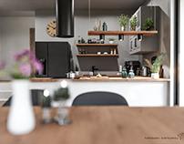 Kitchen + dinning room