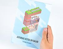 Asturias actúa en salud - 5 acciones saludables