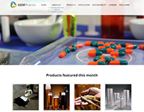Website Design & Development (Medical-Pharmaceutical)