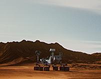 """""""Mars Curiosity Rover"""""""