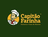 Capitão Farinha Pizzaria | Rebranding