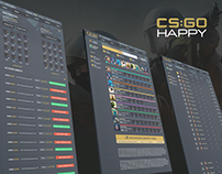 CS:GO HAPPY - web-design