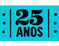 Selo 25 anos Doutores da Alegria