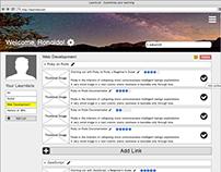 UX/UI Design: Learnlist MVP