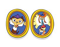 LUDOVICO mico y BENJAMIN mandil