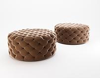 3D model - Porada Alcide pouf