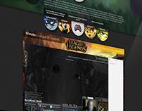 Pause AFK /// Website concept