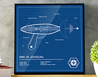 BLUEPRINT RAYGUN