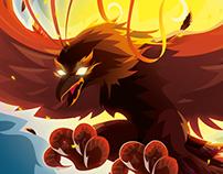 Revista ¡elé! - Mythologic Creatures Phoenix