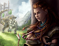 "Fan Art - ""Aloy"" Horizon Zero Dawn"