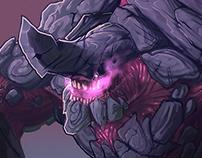 Kaiju Creature Concept