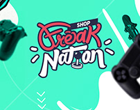 "Diseño de marca y Social media ""Freak Nation"""